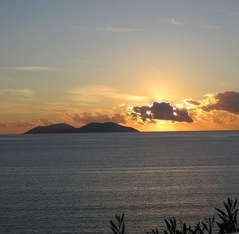 Влера, вечернее море