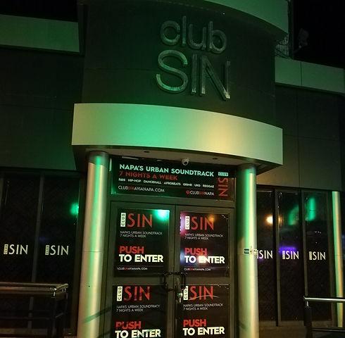 Ночной клуб SIN в Айя-Напе