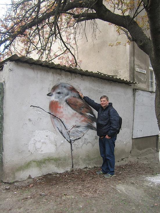 Гигантские птицы Ужгорода