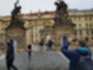 Вход в королевский дворец, Прага