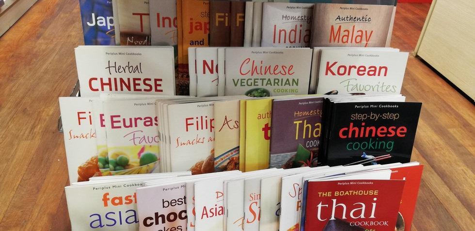 Книги рецептов блюд из разных стран