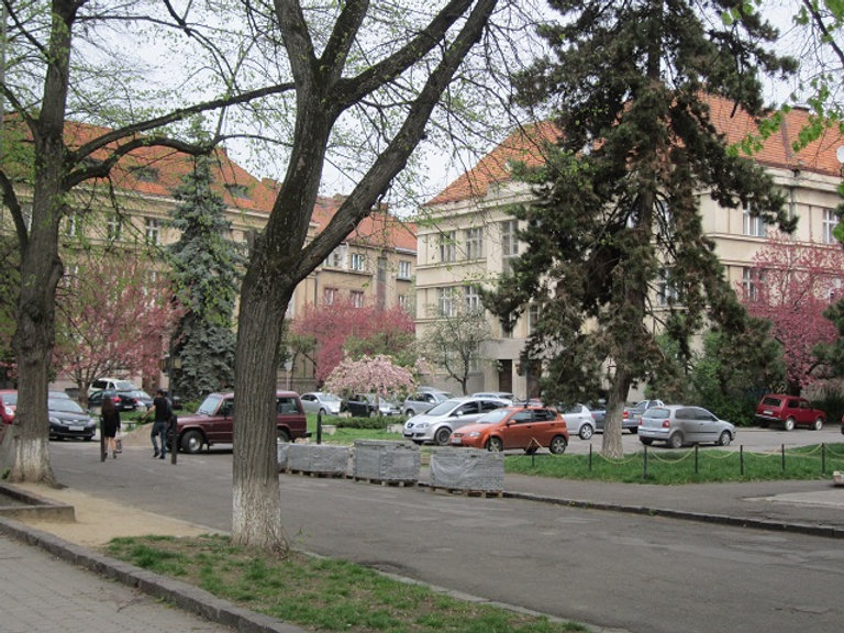 Розовые улицы Ужгорода