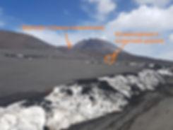 Дорога к вершине вулкана
