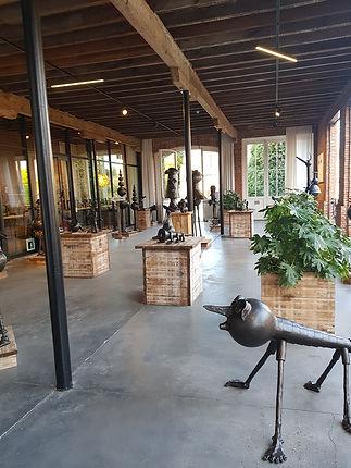 Музей скульптур из железа в Брюгге