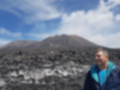 Фото на вулкане
