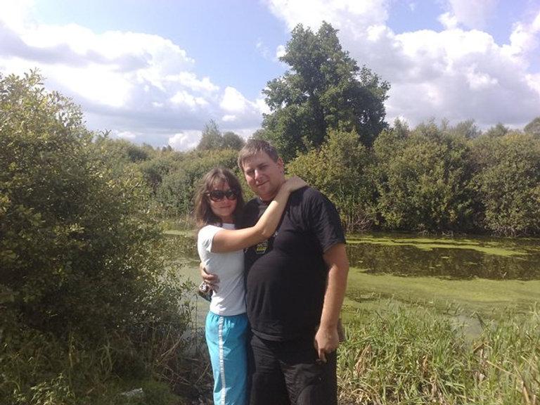Хаенки, возле озера