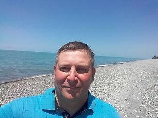 Селфи на пляже в Чакви