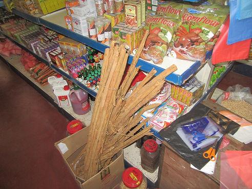 Корица в супермаркете Тангалле