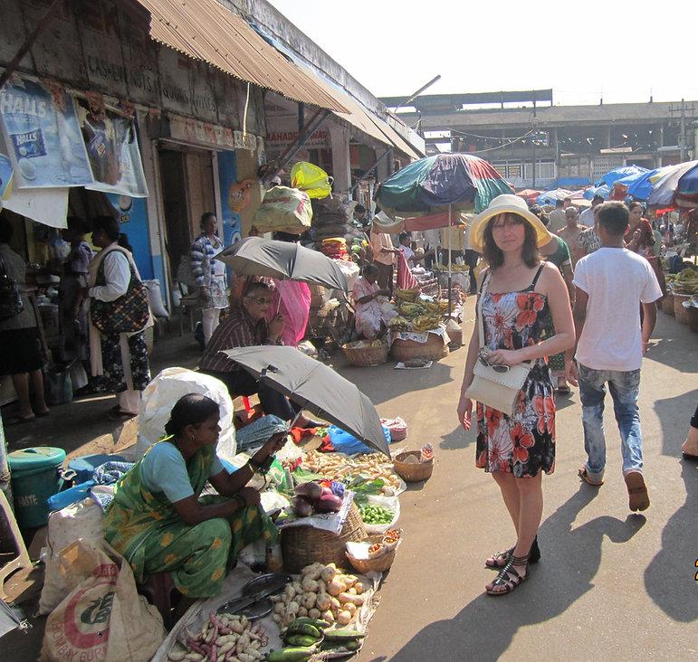 Атмосфера рынка в Мапусе