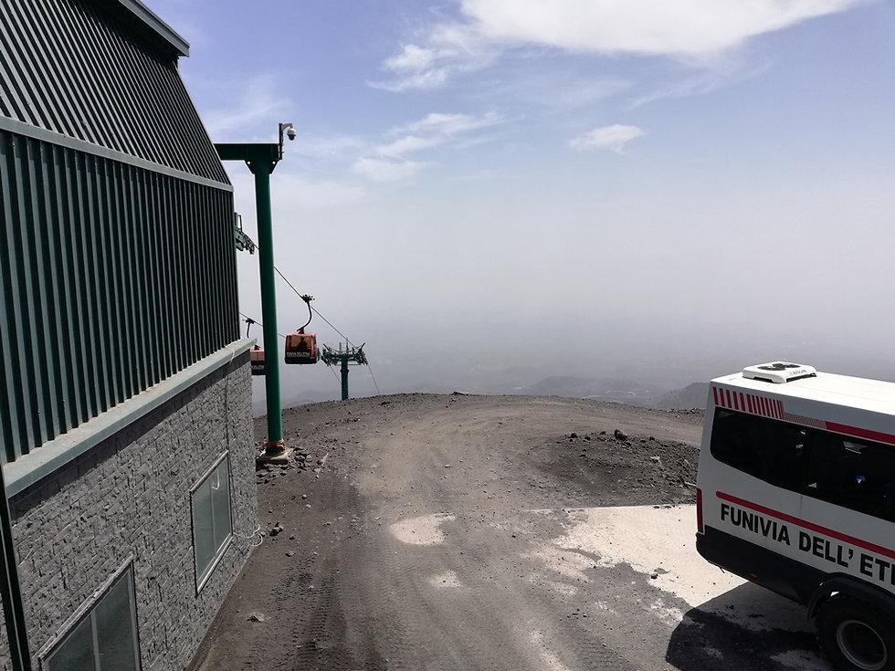 Вид с верхней станции
