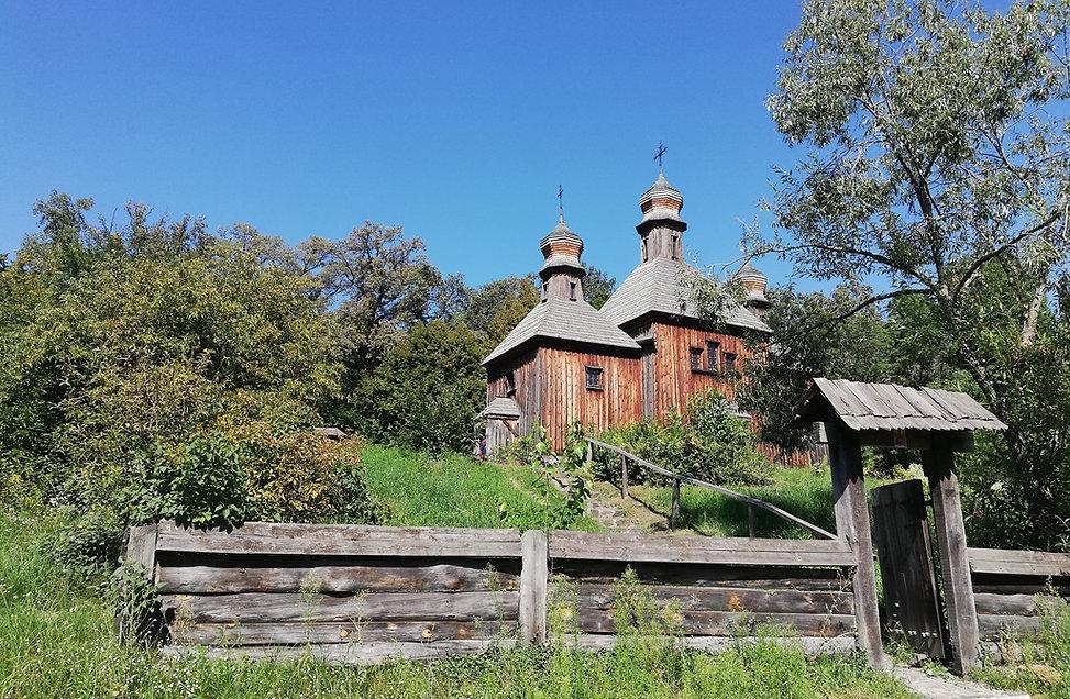 Пирогово, церковь Архистратига Михаила
