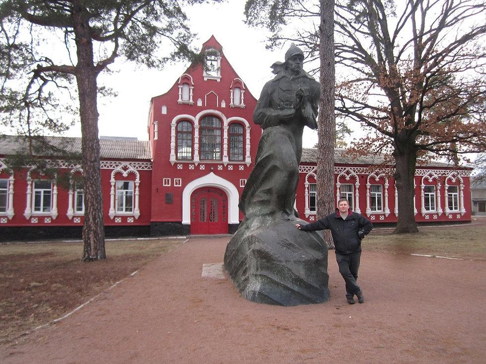 Памятник Павлу Корчагину