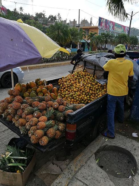 Рынок города Санта Барбара де Самана