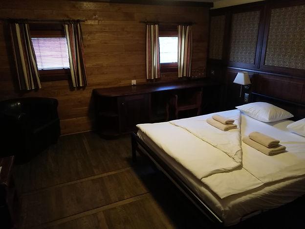 Кровать в каюте