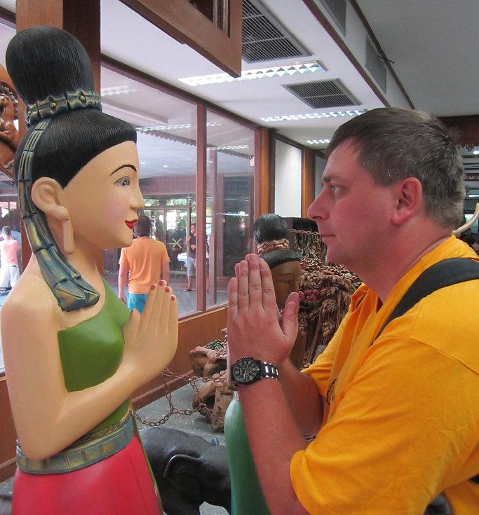 Главный жест Таиланда