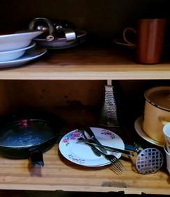 Посуда в домике