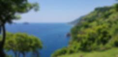 Бали. Вид с горы на море