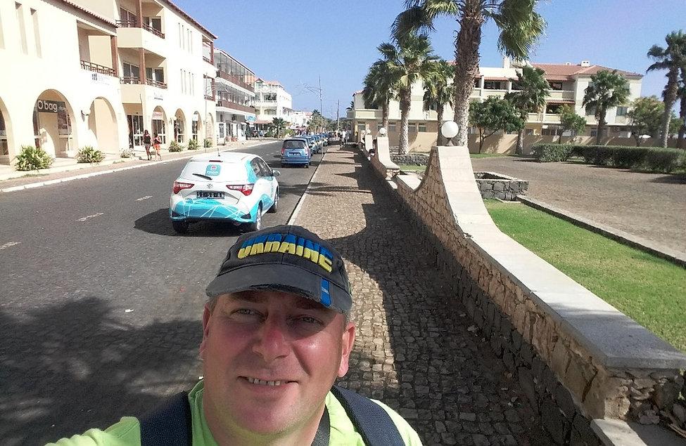 Главная улица города Санта Мария