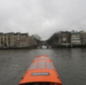 Вид с моста на каналы