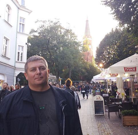 Фото на главной улице Сопота