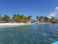 Пристань поселка Мано Хуан на острове Саона