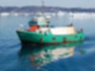 Корабль в Гренландии