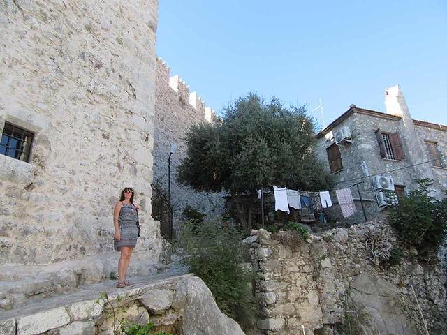 Стены крепости Мармариса