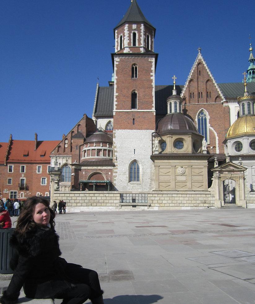 Внутренний двор дворца Вавель