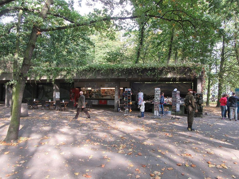 Рынок сувениров в Вестерплатте