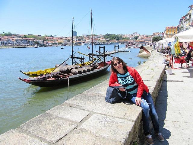На берегу реки Дуэро в Порту