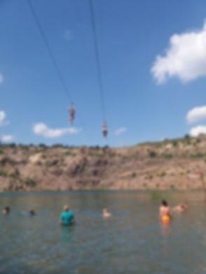 Радоновое озеро, тролей