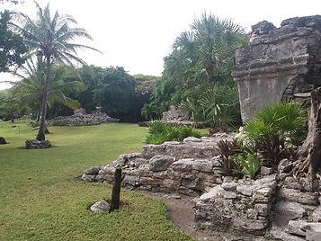 Развалины города Майя в Плая дель Кармен