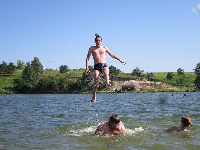 Озеро Крючок, Украина