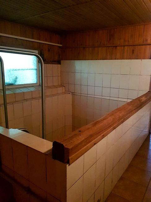 Купель в бане Экополиса