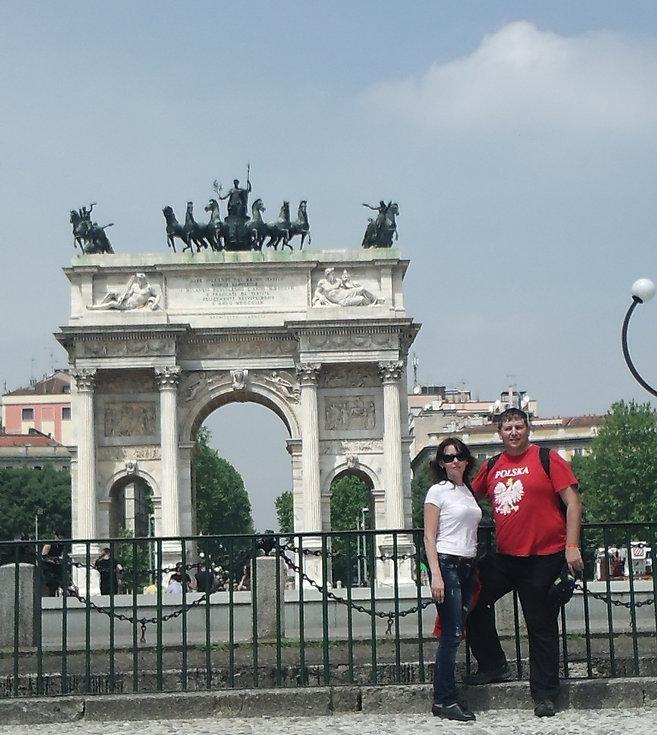 Триумфальная арка в Милане
