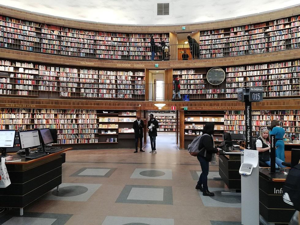 Стокгольмская общественная библиотека