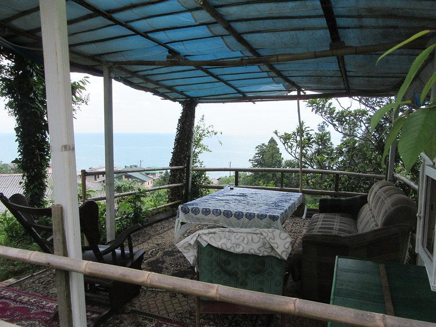 Вид с террасы на море