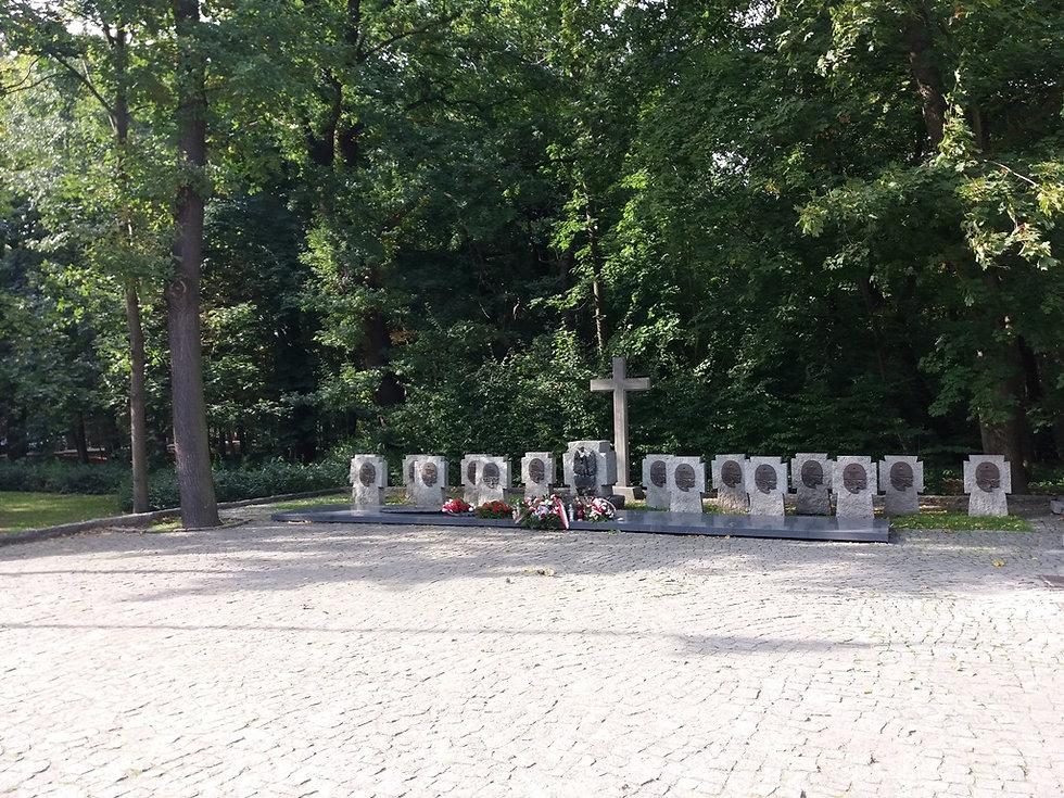 Мемориал погибшим в Вестерплатте