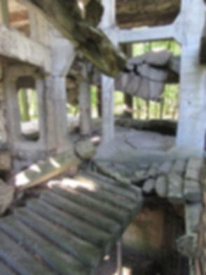 Развалины казарм Вестерплатте