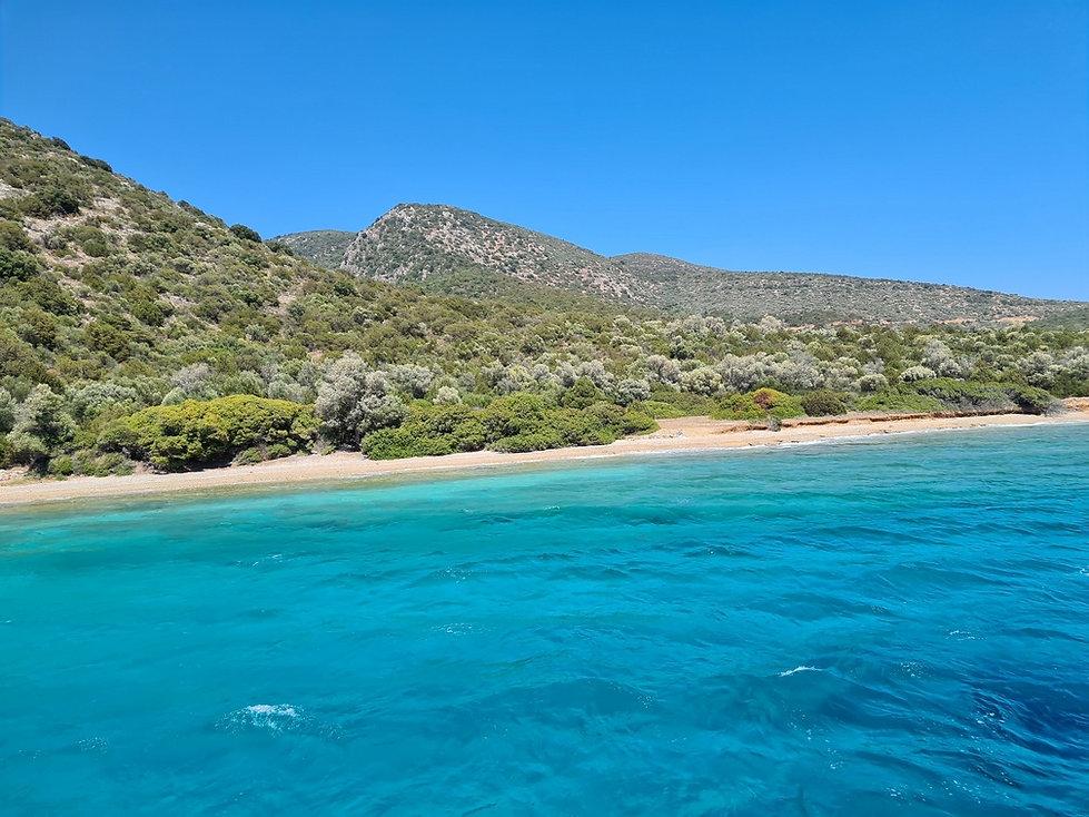 Эгейское море возле Бодрума