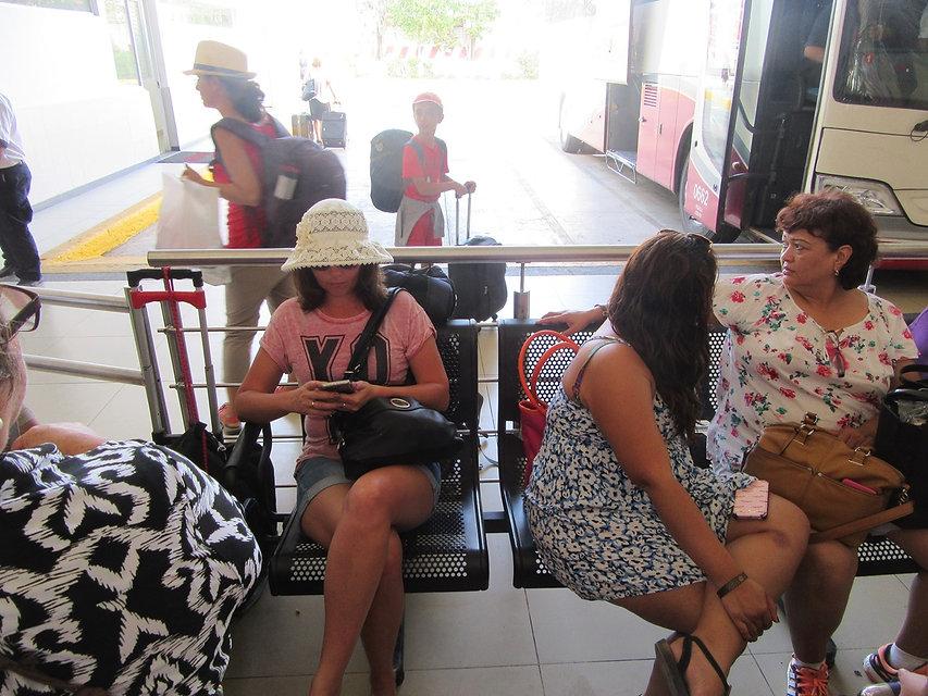 Автостанция в Плая дель Кармен