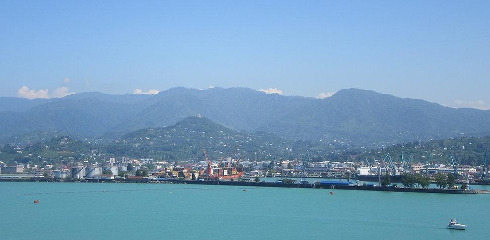 Вид на горы в Батуми