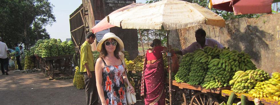 Продавцы бананов в Мапусе