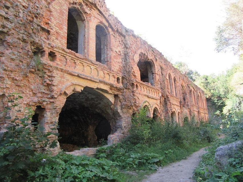 Первое знакомство с Таракановским фортом