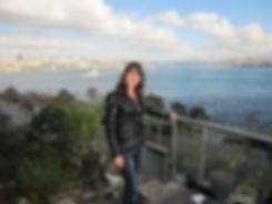 Вид на Босфор с холмов Стамбула
