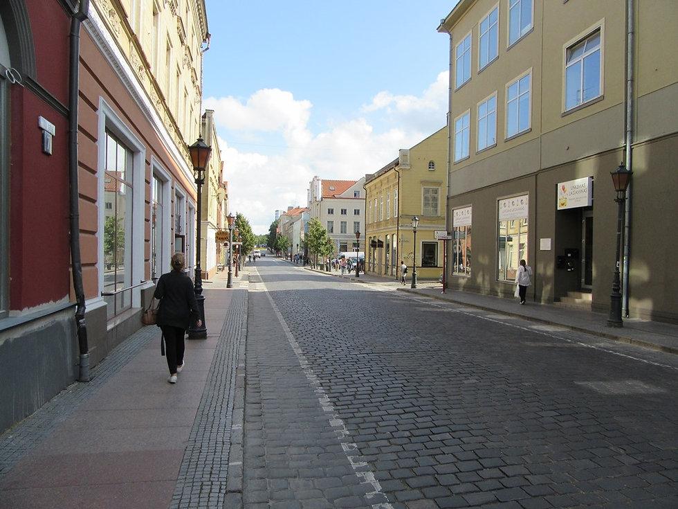 Улицы Клайпеды