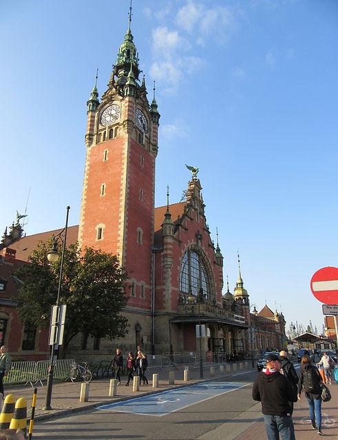 Гданьск, вокзал