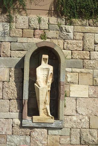 Статуя святого Георгия