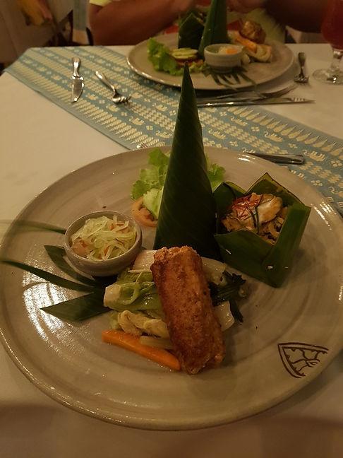 Первое блюдо в ресторане