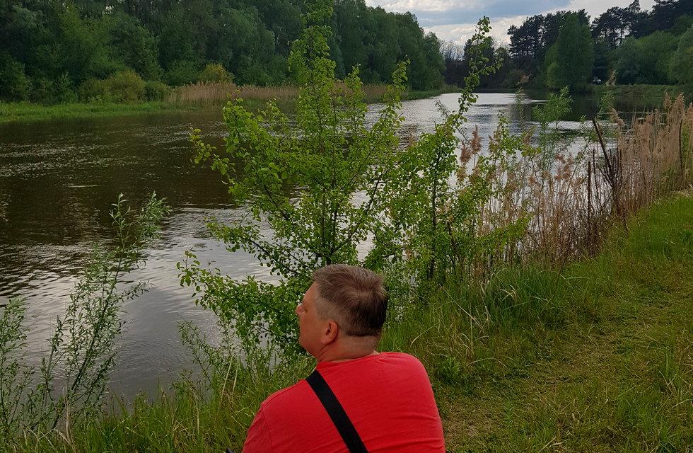 Река Тетерев возле базы Экополис